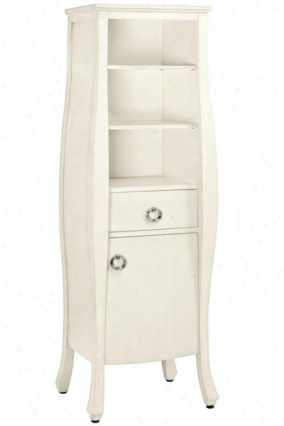 """""""savoy Storage Cabinet - 64.75""""""""hx20""""""""w, White"""""""