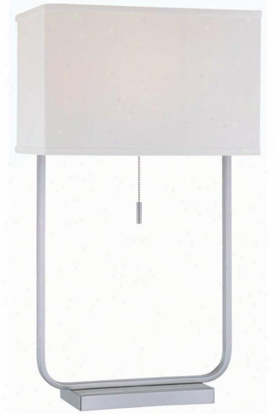 """saxony Table Lamp - 14""""x25"""", White"""