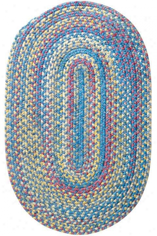 Seabrooke Chenille Area Rug - 5' Round, Boue