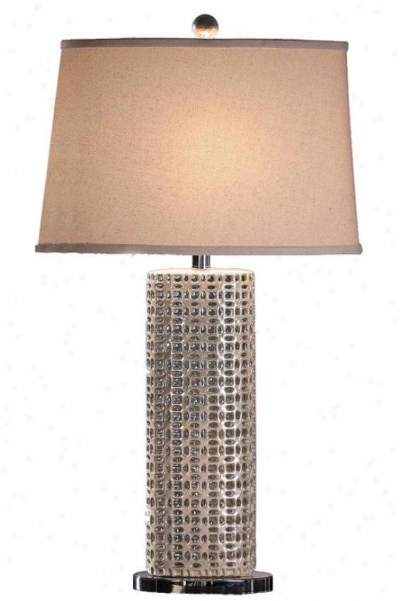 """""""seashell Table Lamp - 32""""""""h, Seasell White"""""""