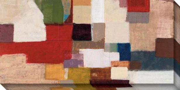 Section Arc I Canvas Wall Art - I, Multi
