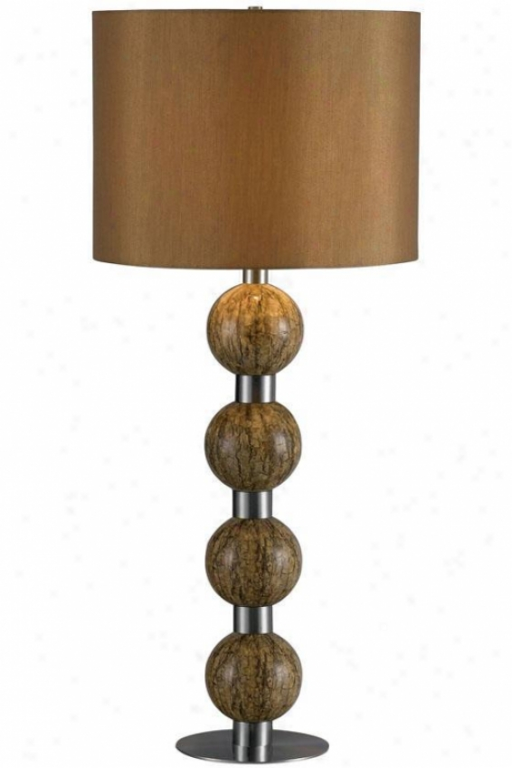 """sector Table Lamp - 30""""h, Mqrble"""