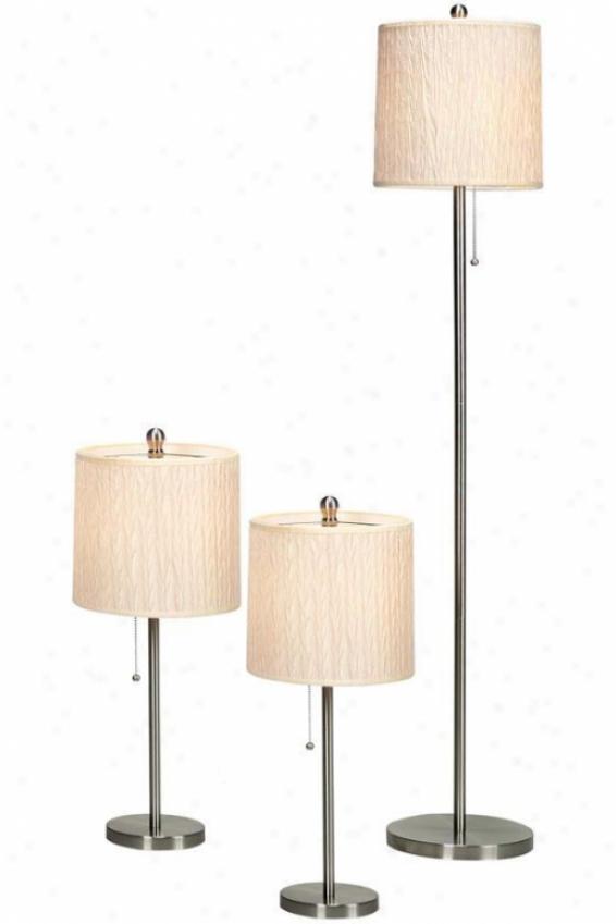 Selma Lamp Set - Set, Grey Steel