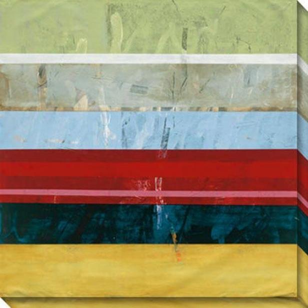 Sentiment V Canvas Wall Art - V, Multi