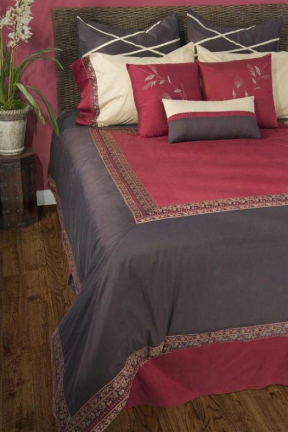 Shaemore Bedding Set - Full 5pc Set, Brown