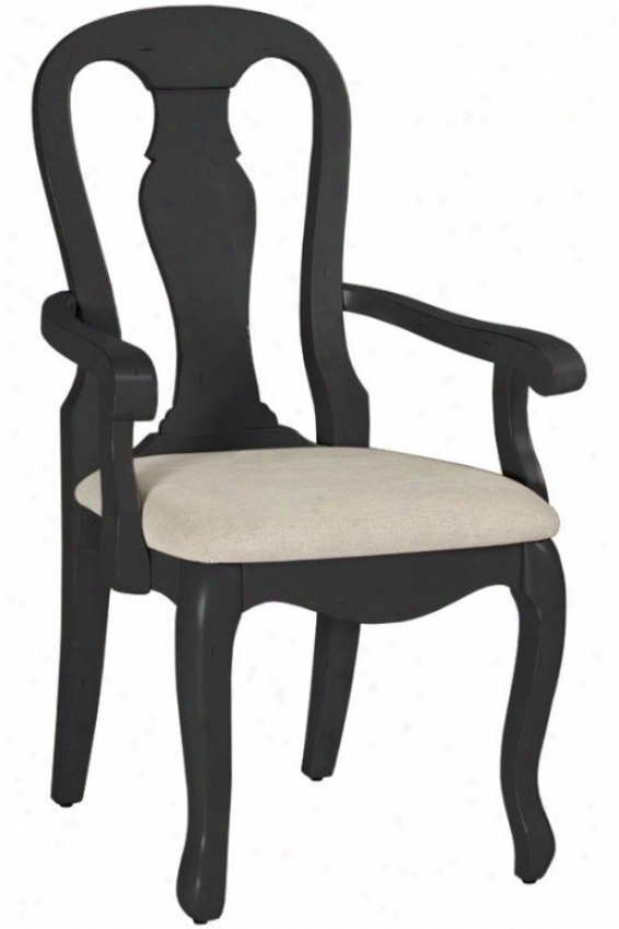 """sheffield Arm Chair - 41""""h, Black"""