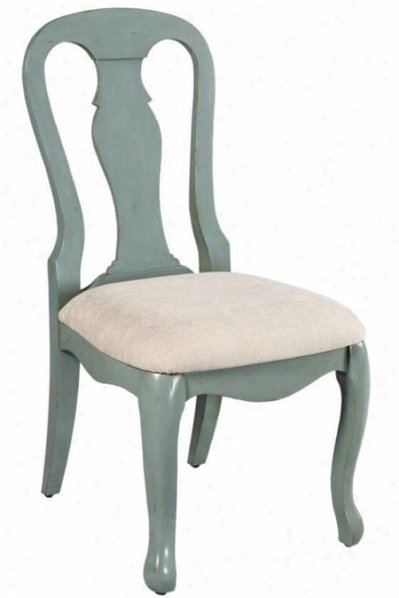 Sheffield Side Chair - Linen Fix, Blue