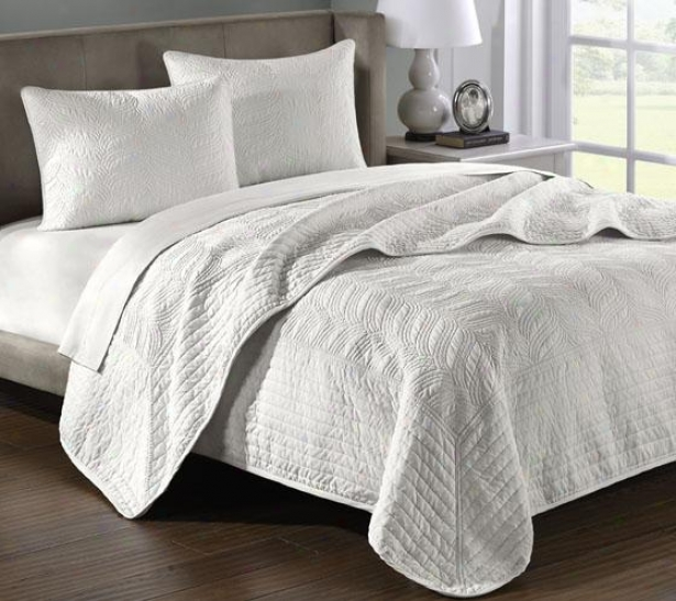 Sheldon Ii Coverlet Set - King 3pc Set, Sage