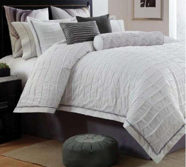 Soreline Ii Comforter Set - Queen 9pc Set, White