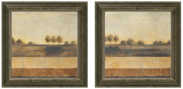 Mute Journey Framed Wall Art - Set Of 2 - Fix Of Two, Beige