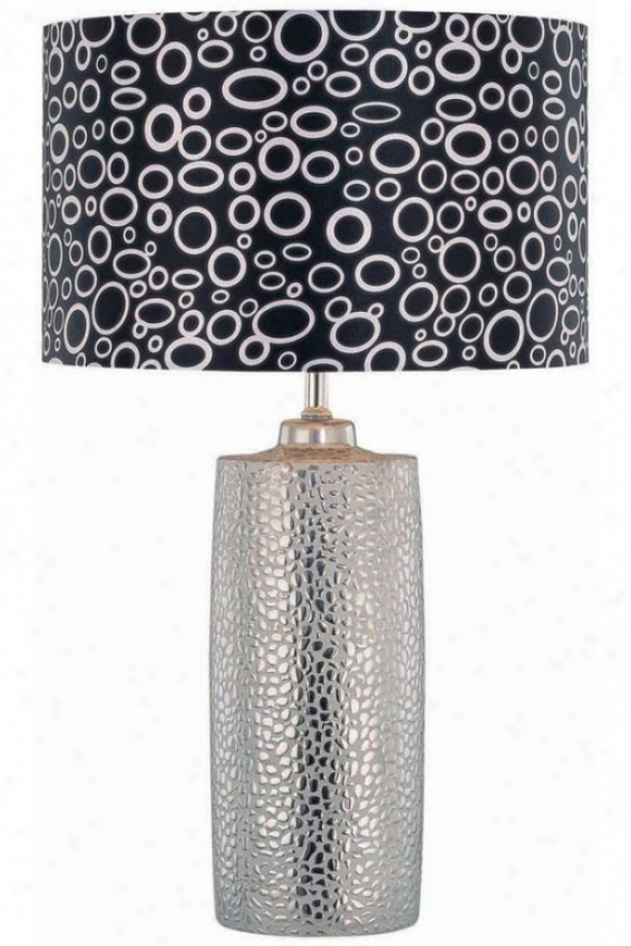 """silvio Table Lamp - 14.75""""x24"""", Slate Grey"""