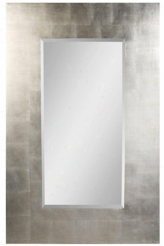 """simon Wall Mirror - 56""""hx36""""w, Black"""