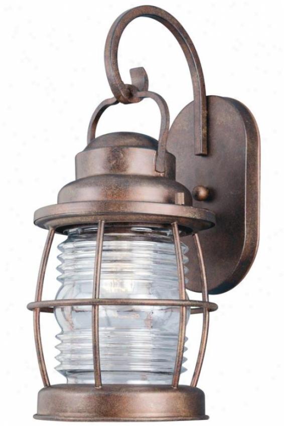 Sirsn Outdoor Lantern - Medium, Glided Copper