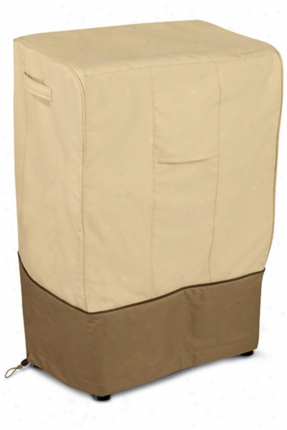 Smoker Cover - Sq One Size, Pbbl/earth/bark