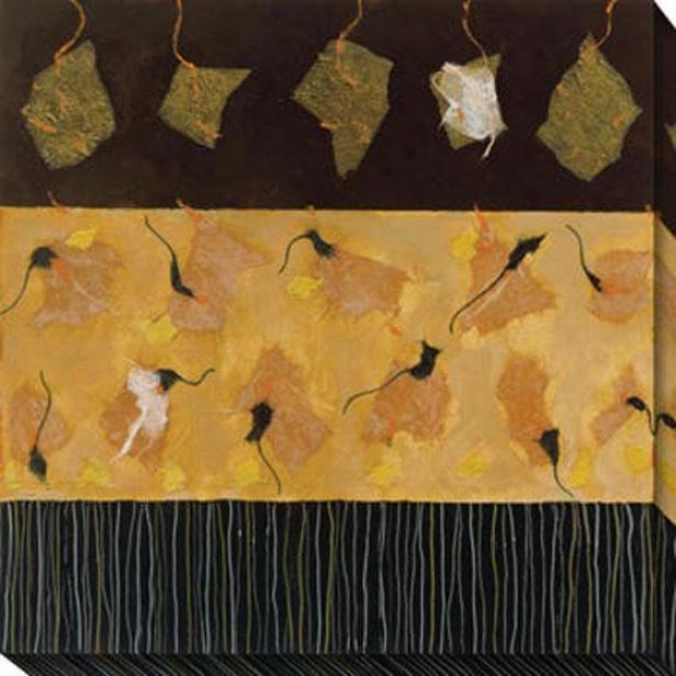 Soonnet Ii Canvas Wall Art - Ii, Black