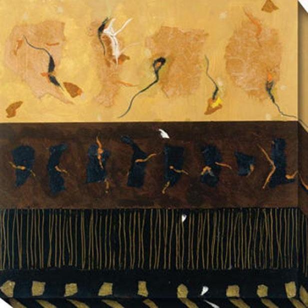 Sonnet Iii Camvas Wall Art - Iii, Black