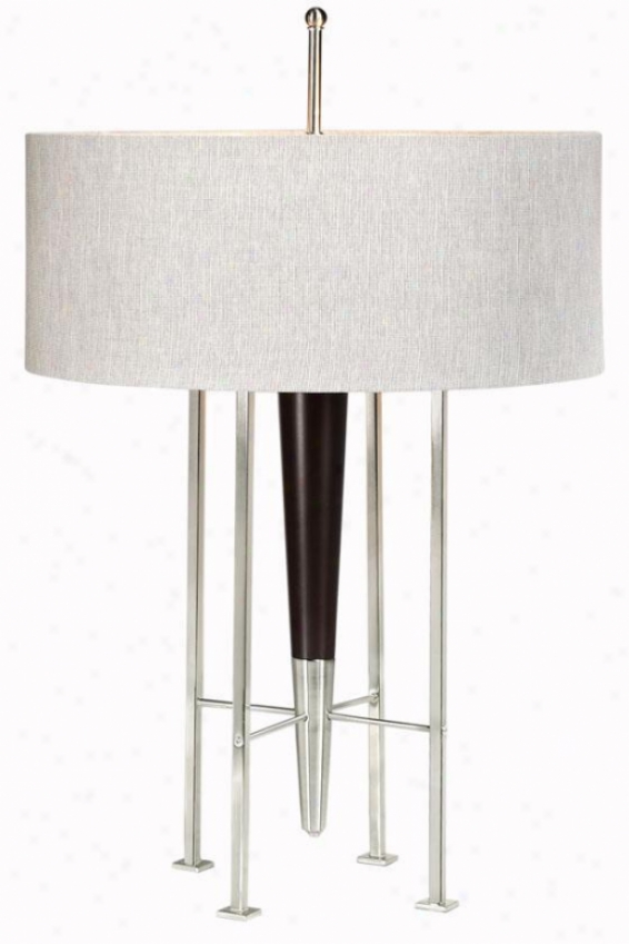 """""""spire Table Lamp - 31.5""""""""hx20""""""""w, Silver"""""""