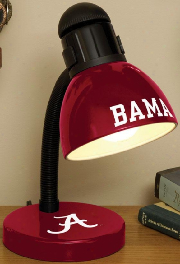 Sports Team College Desk Lamp  -College Teams, Red