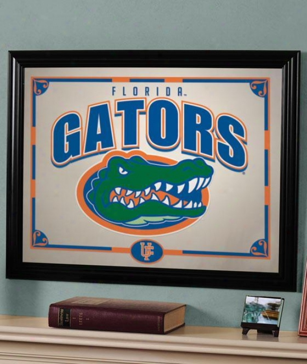 Sports Team College Framed Mirror - College Teams, Florida