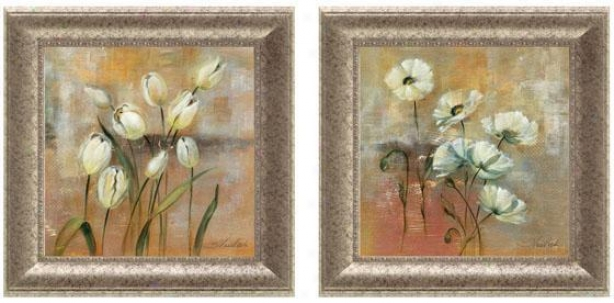 S0ring Field Framed Wall Art - Set Of 2 - Set Of Two, Pastels
