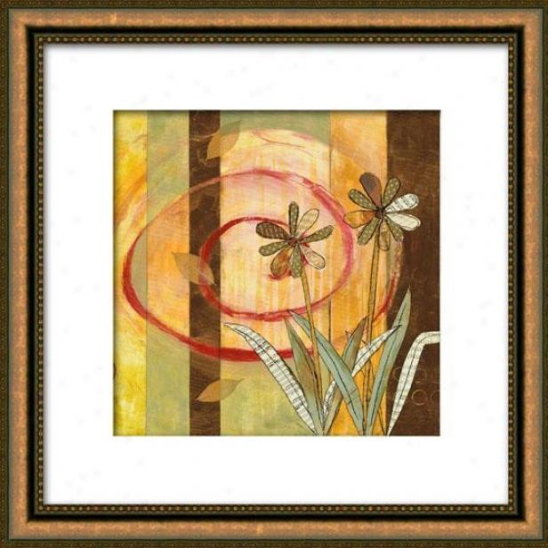 Spring Panel I Framed Wall Art - I, Matyed Gold