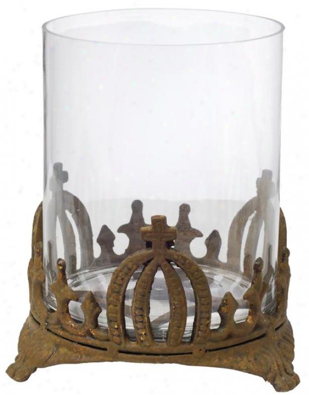 """stefan Candleholder - Large 9.5x11"""", Dull"""