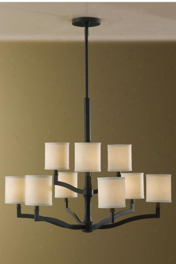 Stelle Chandelier - Nibe Light, Oil Rub Bronze