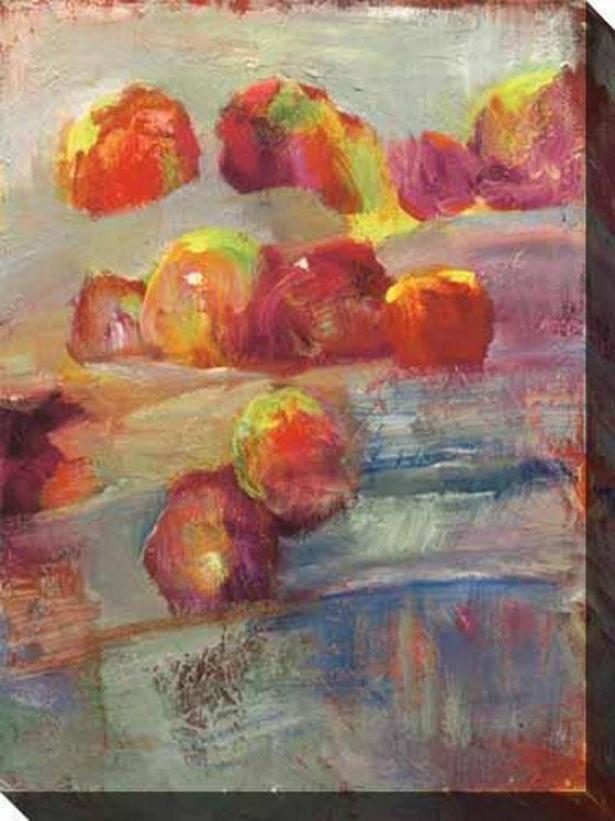 Still Life Celebration I Canvas Wall Skill - I, Red