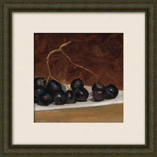 Still Life I Framed Wall Creation of beauty - I, Matted Burlwood