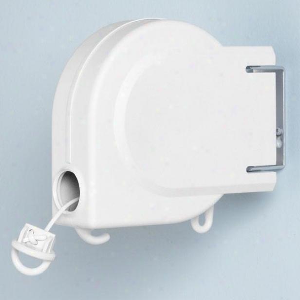 Storage 20' Retractable Clohesline - 20', White