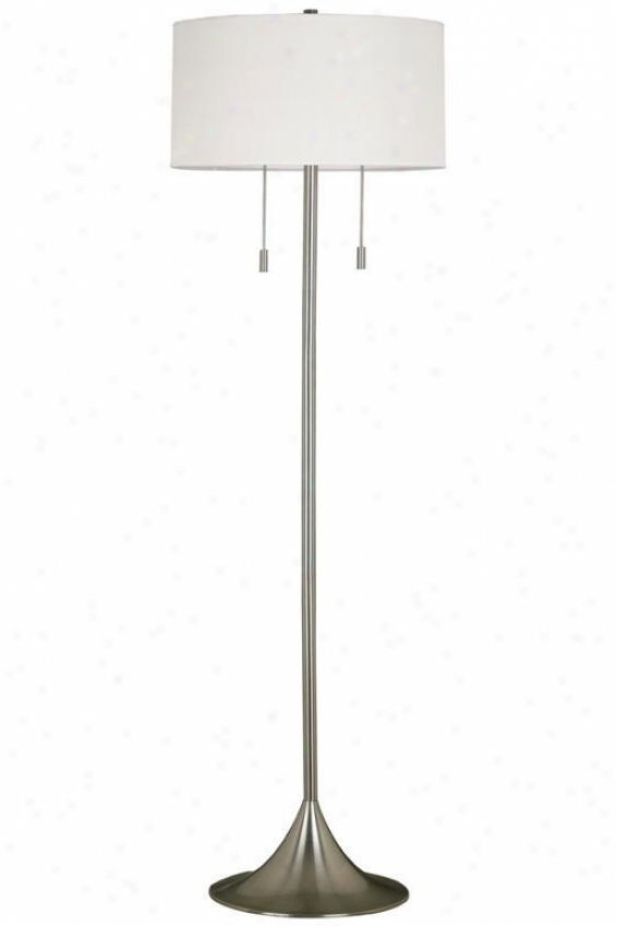 """stowe Floor Lamp - 61""""hx19""""w, Grey Steel"""