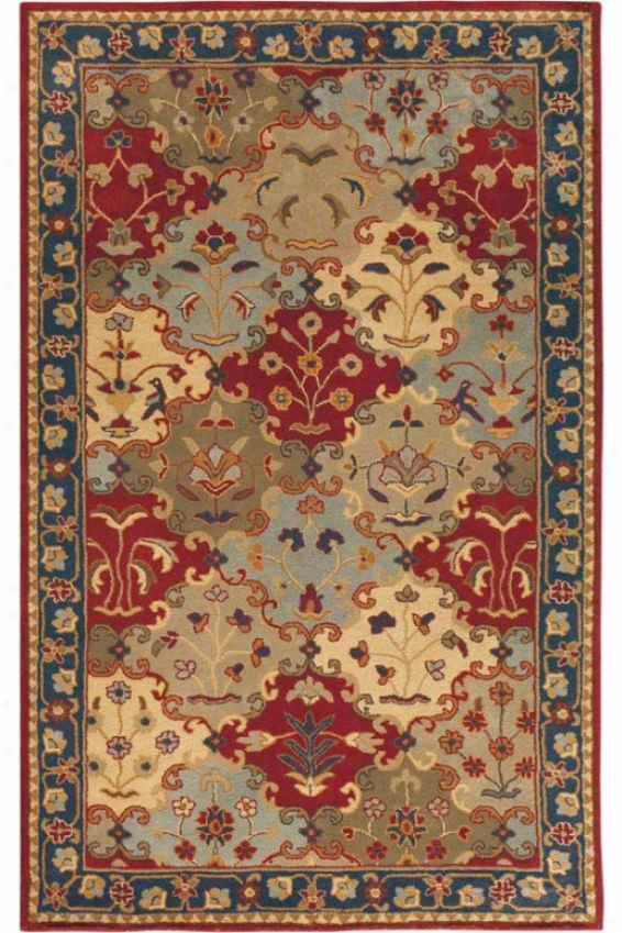 Stratton Rug - 5'x8', Blue
