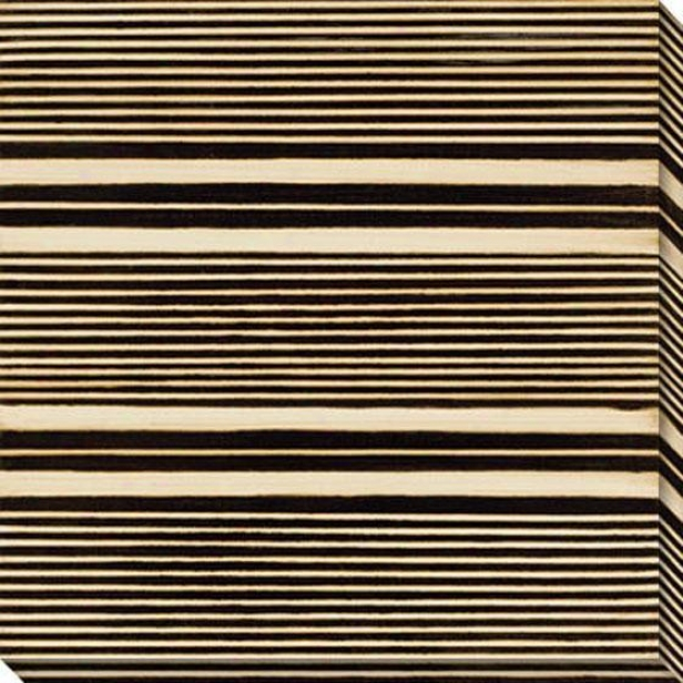 Stripe Vision Ii Canvas Wall Art - Ii, Murky