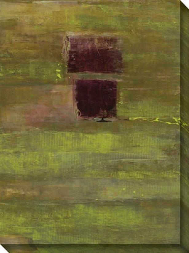 Submit Ii Canvas Wall Art - Ii, Green