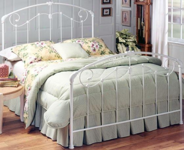 Sullivan White Bed - King, Glossy White