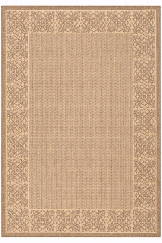 """summer Chimes Rug - 2'3""""""x7'10"""" Rnnr, Chocolate Brown"""