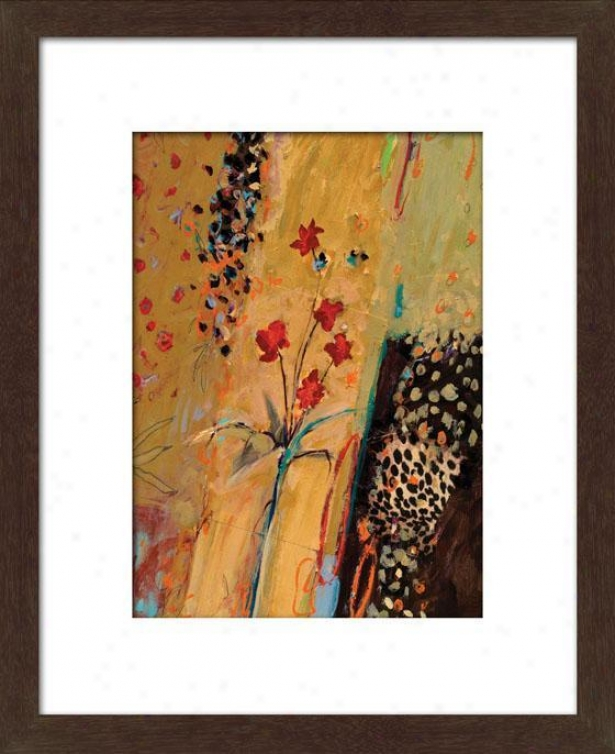 Summer I Framed Wall Art - I, Mttd Espresso