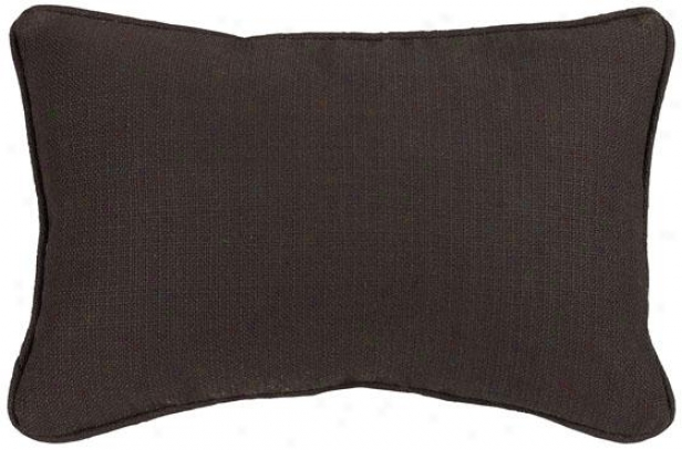 """summerhouse Chocolate Fiber-filled Pillow - Fiber-flld Pllw, 12.5""""x19"""""""