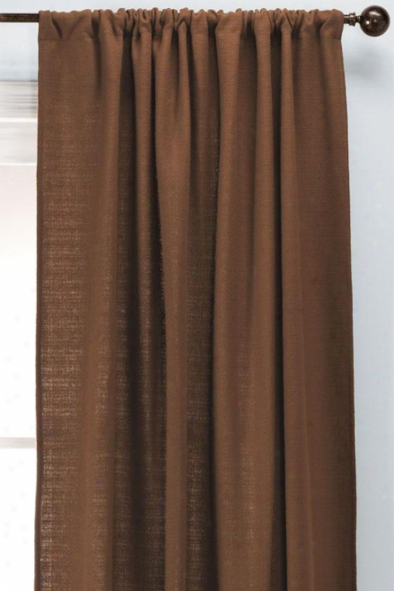 """summerhouse Con Rod Pocket Drapery - Rod Pckt Drapry, 84""""hx54""""w"""