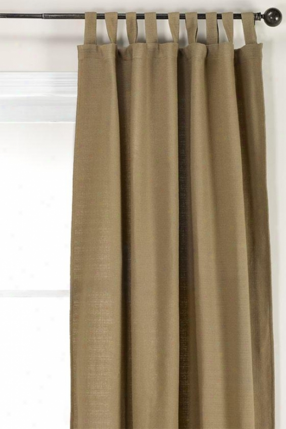 """summerhouse Metal Lined Tab Top Drapery - Lnd Tb Tp Drpry, 108""""hx54""""w"""