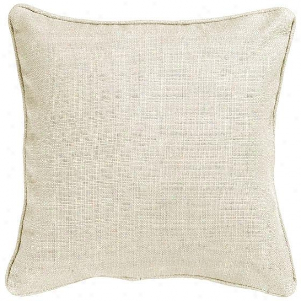 """summerh0use Natural Wash Fiber-filled Pillow - Fibe5-flld Pllw, 26"""" Square"""