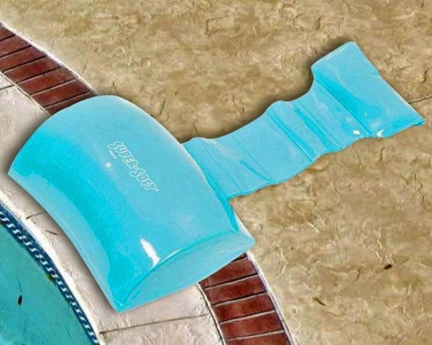 """super Soft Weighted Spa Pillow - 6""""x9"""", Aquamarine"""
