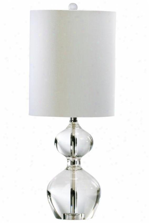 """sydney Table Lamp - 23""""h, Crystal"""