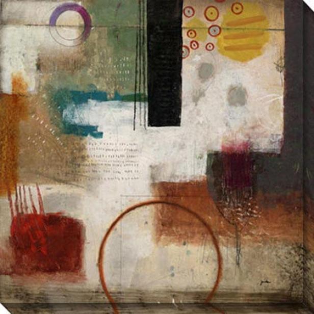 Symphony Ii Canvas Wall Art - Ii, Multi