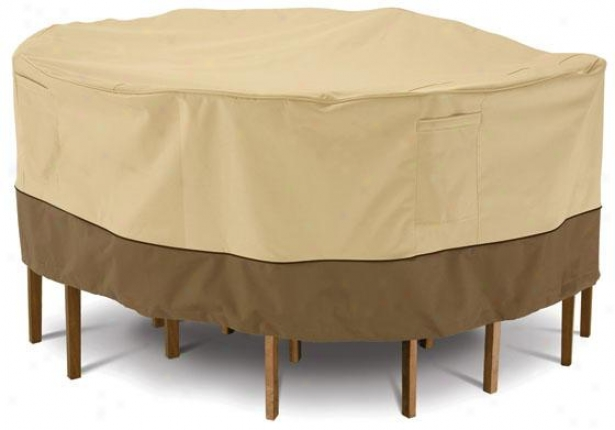 Table And Chair Set Cover - Small, Pbbl/earth/bark