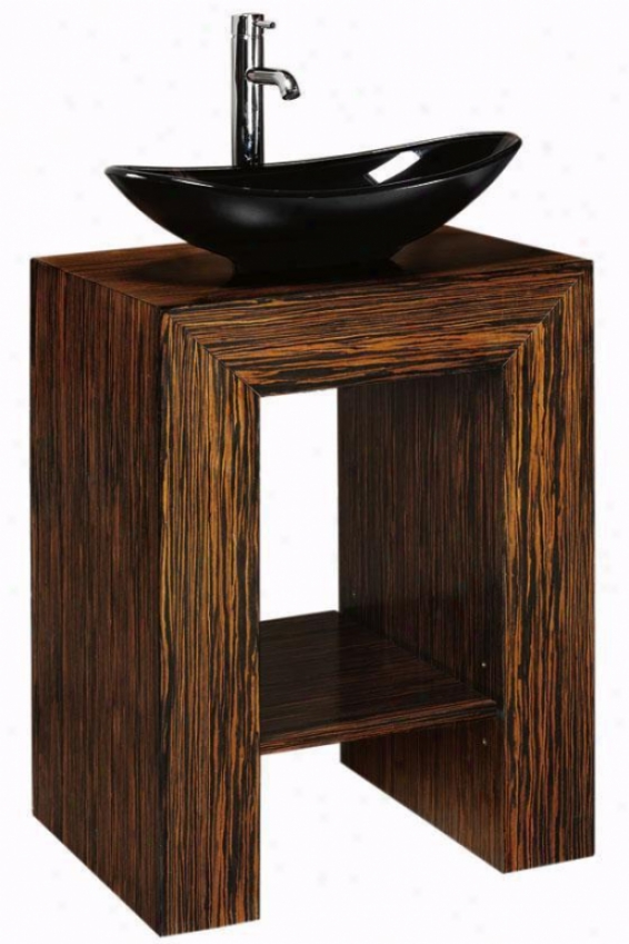 """taylor Bathroom Emptiness - 22""""hx20""""w, Black"""