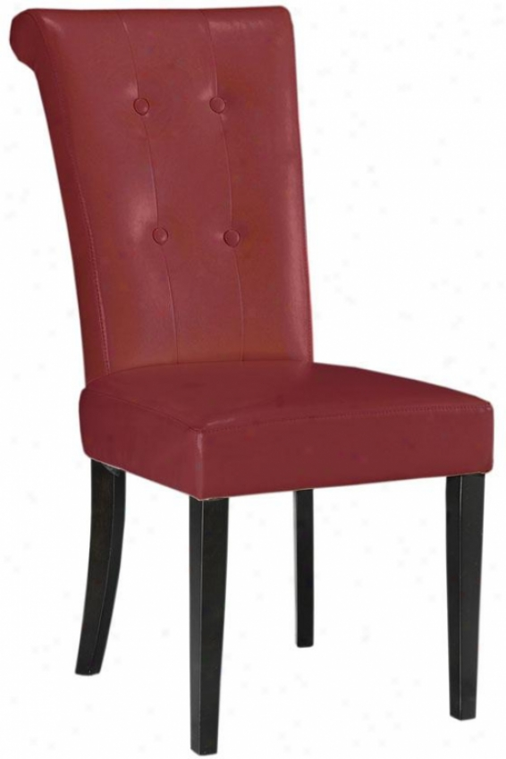 """taylor Dining Chair - 40""""hx19""""w, Red"""