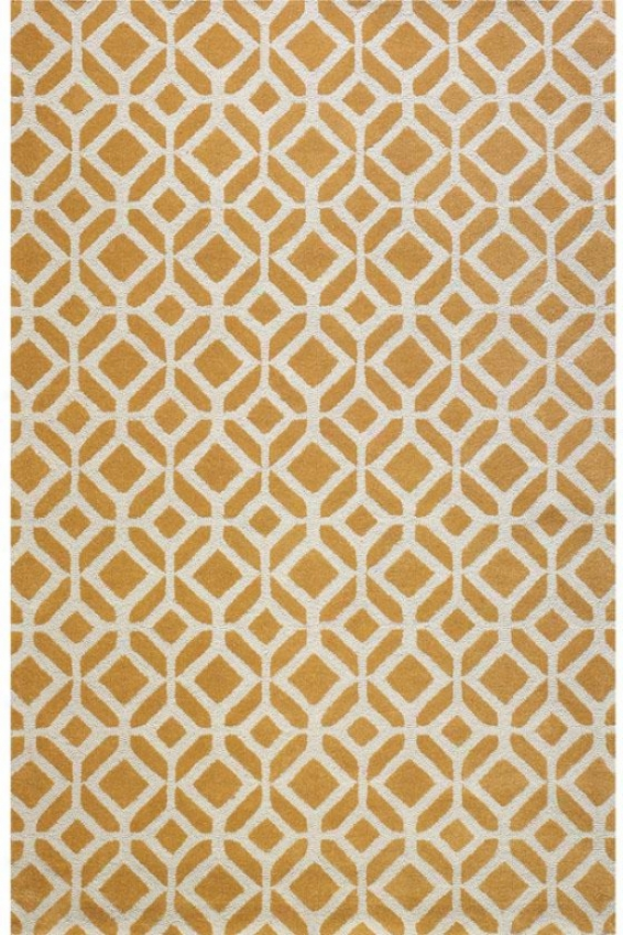 """taza Area Rug - 9'9""""x13'9"""", Yellow"""