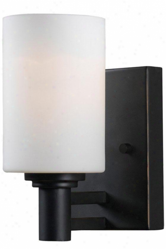 Thandi Vanity Lighting - 1-light, Oil Rubbed Bronze