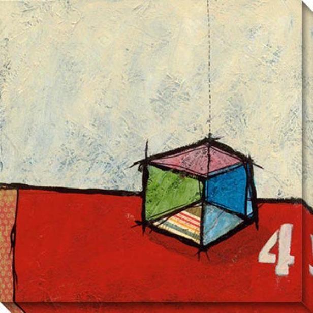 """the Gift Canvas Wall Art - 40""""hx40""""w, White"""